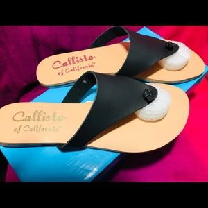 Callisto of California Helena sandals